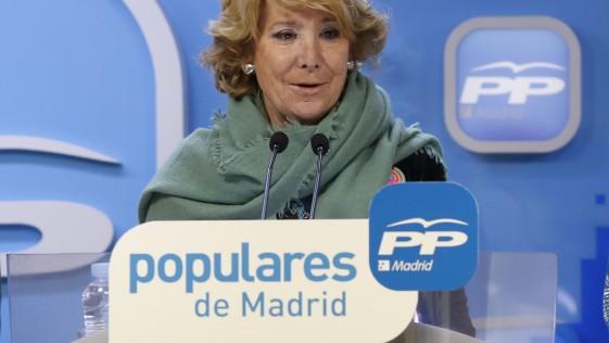 Esperanza Aguirre da un paso al frente