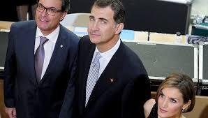 Londres (VII): Felipe VI se la juega en Cataluña