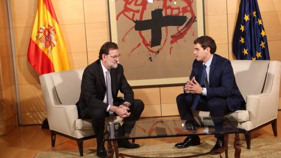 Rajoy tiende la mano a Rivera, ¿ya es tarde?