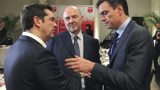 Sánchez se arrastra en Europa y mendiga el apoyo de Iglesias