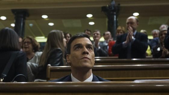 Sánchez, en el patíbulo, tras el fracaso de la investidura (II)