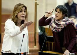 """Susana Díaz estalla contra Podemos: """"¿No somos la casta?"""""""
