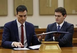 ¿Se suicidará Rivera pactando otra vez con Sánchez?