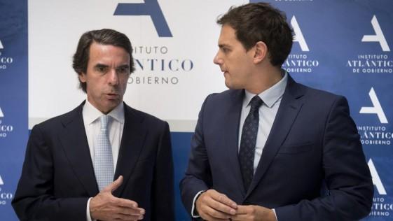 Aznar-Rivera, la extraña e interesada pareja