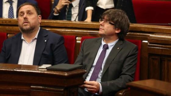 Puigdemont se pitorrea de España y de los españoles