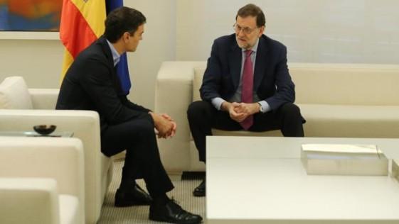 Rajoy devuelve a Pedro Sánchez a la cordura, de momento
