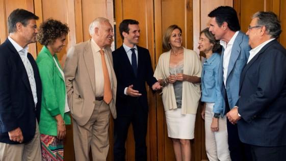 Dolors Montserrat, secretaria general o portavoz del PP