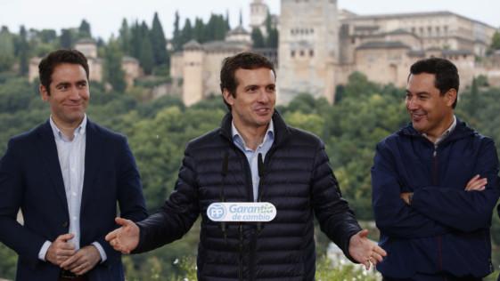 Casado impone su autoridad en las listas del PP en Andalucía