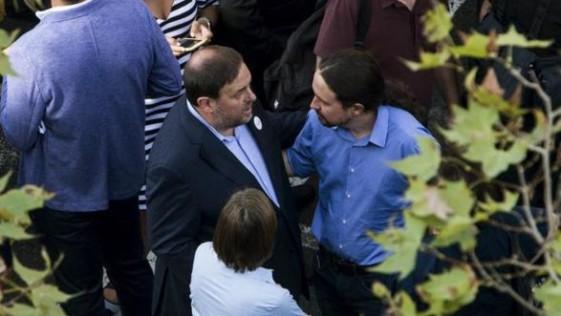 Negociar en la cárcel con Junqueras, otro disparate más de Iglesias