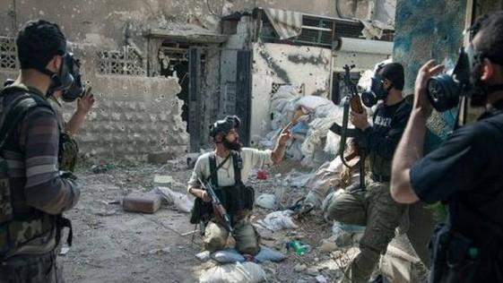 España, de perfil en Siria