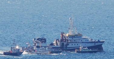 El buque que movilizó a Gibraltar