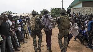 Mandar o no tropas a República Centroafricana
