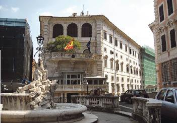 Nueve embajadas con embajadores jubilados o sin embajador