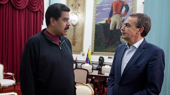 Zapatero y su puente aéreo con Caracas