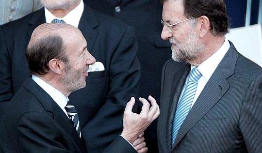 Rajoy y Rubalcaba se meten en la cocina…por Cataluña