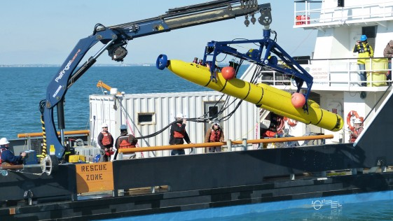 El submarino no tripulado que busca el Pentágono