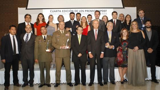 IV Premios APDEF: Asarta, desactivadores y giro comunicativo del Ministerio