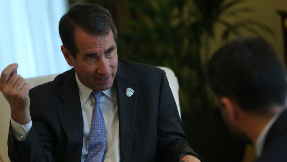 Solomont: «Rota es crucial para protegernos de misiles de países como Irán»