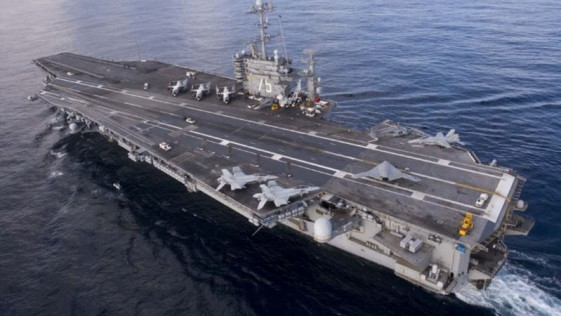 El portaaviones «Harry S. Truman», en aguas cercanas a Baleares
