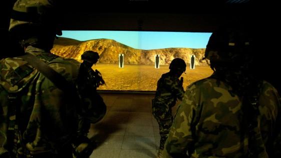 Las Fuerzas Armadas cuentan ya con 34 simuladores de tiro Victrix