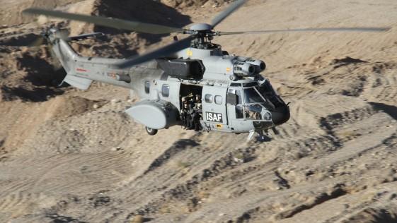Homenaje del Ejército del Aire a Helisaf: «el sonido de la vida en Afganistán»