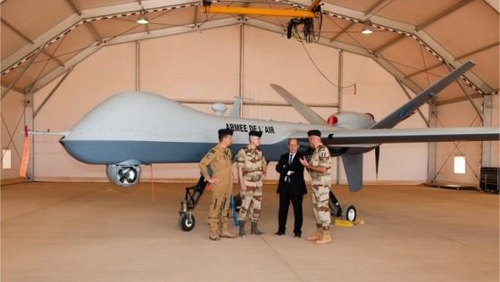 «Predator B»: comienza la guerra de los «drones» de Francia en el Sahel