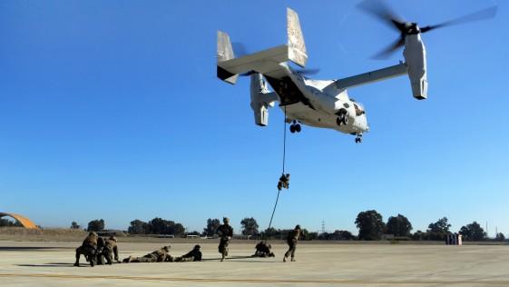 Marines de Morón: sus misiones y ejercicios en Senegal, Yibuti o Sevilla