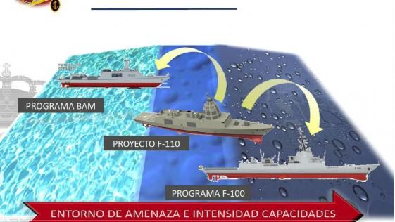 El Gobierno aprueba 224,6 millones para las fragatas F-110 y vehículos 8×8