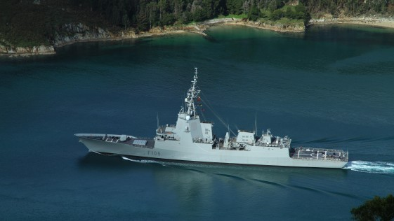 La Armada estudia desplegar la fragata Cristóbal Colón en Australia en 2017