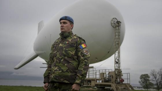 El zepelín-vigilante de EE.UU.: protagonista en un ejercicio de la OTAN
