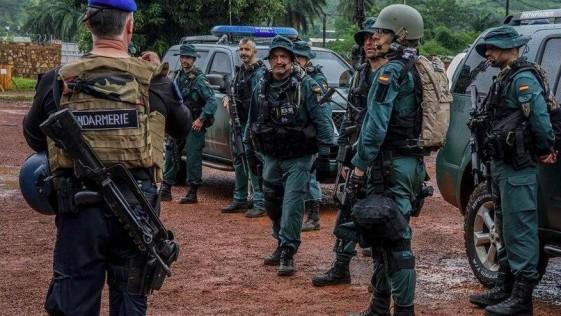Los GAR de la Guardia Civil, en República Centroafricana