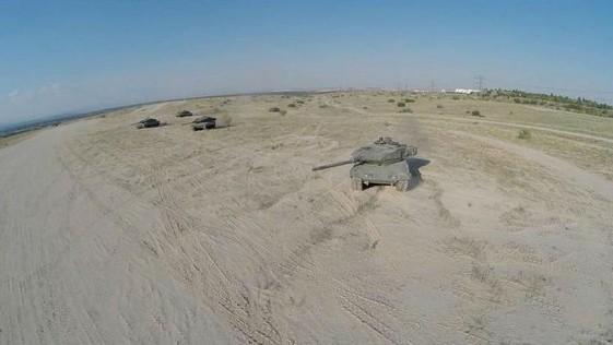 Vídeo: el carro de combate Leopardo, a vista de «drone»