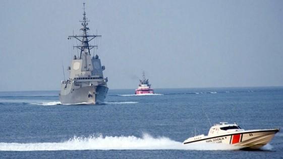 """Una fragata española, en un """"ejercicio OTAN"""" en el mar Negro (Rusia en el horizonte)"""