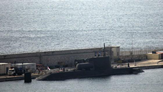 Gibraltar acoge esta semana al «Astute»: el moderno submarino nuclear del Reino Unido