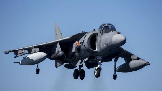 La vida operativa de los Harrier de la Armada llegará a 2027