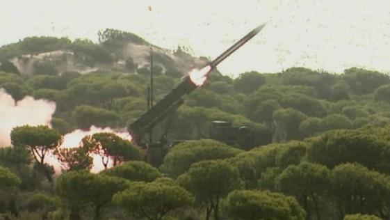 Vídeo: la 9ª Batería Patriot prueba sus misiles antes del despliegue en Turquía