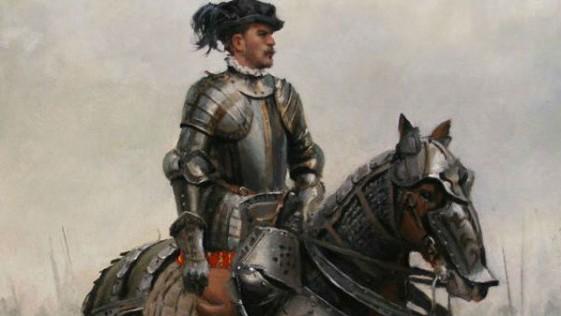 Un cuadro para Hernán Cortés, por Ferrer-Dalmau