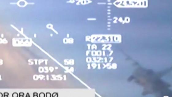Vídeo: un caza ruso Mig-31 y un F-16 noruego, a punto de chocar en pleno vuelo