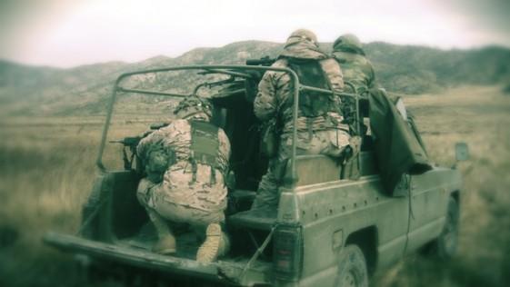Francotiradores de Arabia Saudí, en un ejercicio en Zaragoza con España, EE.UU. y Francia