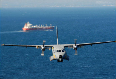 El Ejército del Aire localiza un pesquero de Venezuela con 1.500 kilos de cocaína