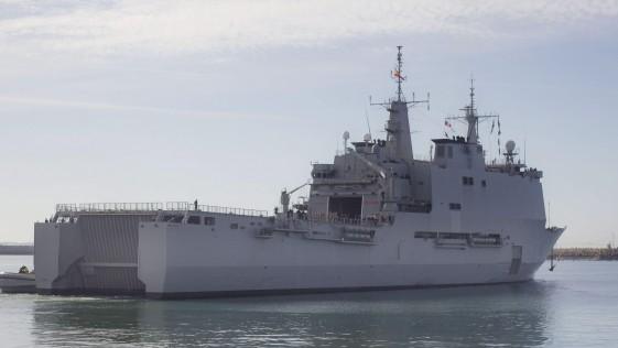 La Armada estrena en misión su primer «drone», el ScanEagle