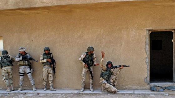 Los soldados iraquíes de la Legión que combatirán contra el Estado Islámico