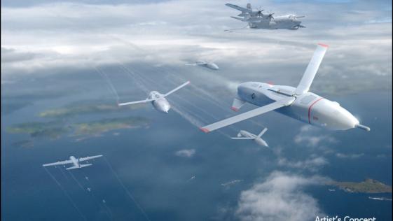"""El Pentágono quiere una nueva generación de """"drones"""" que se lancen y aterricen desde aviones"""