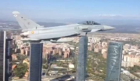 El clima de hoy donde tú vives - Página 2 Eurofighter-castellana-madrid
