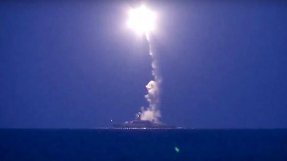 Vídeo: así lanzó Rusia sus misiles Kalibr desde el Caspio con destino Siria