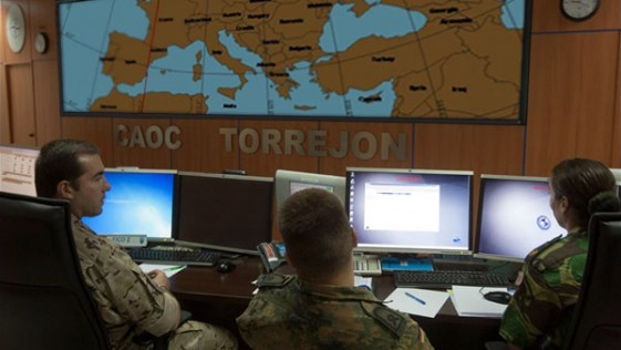 El derribo del caza ruso, seguido «detalle a detalle» desde la base de Torrejón