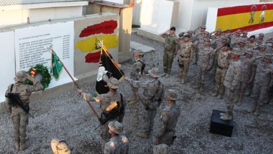El Ejército homenajea a los militares caídos en Irak en 2003