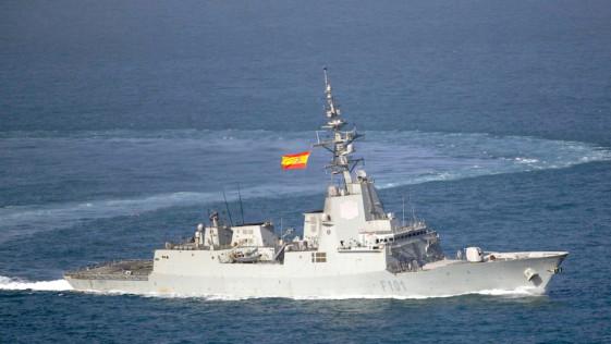 Escocia, Báltico o Noruega: los ejercicios de la fragata «Álvaro de Bazán» con la OTAN