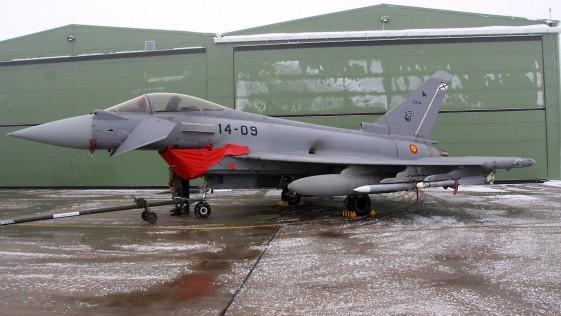 Iris-T y AMRAAM, los misiles de los Eurofighter españoles en el Báltico