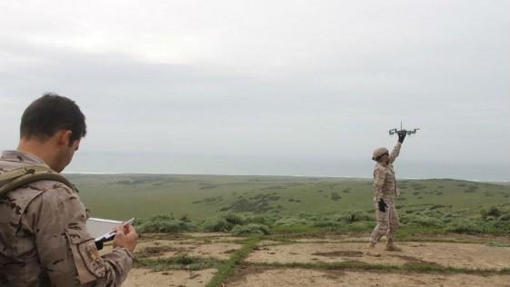 Infantería de Marina prueba su primer dron: el danés Huginn X-1